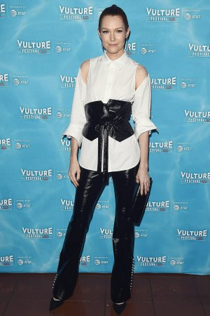 Darby Stanchfield attends Scandal Panel Vulture Festival