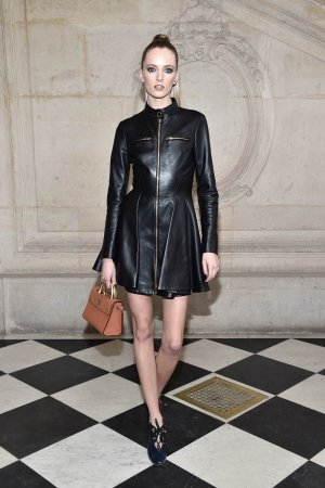 Daria Strokous attends the Christian Dior Haute Couture Spring Summer 2017 show