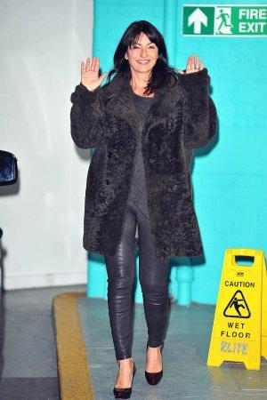 Davina McCall at ITV Studios