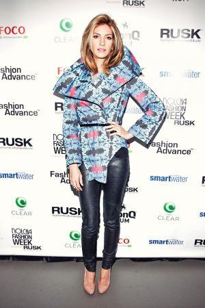 Dawn Olivieri attends Nolcha Fashion Week New York 2013