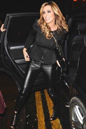 Dawn Ward arrives at Bronx bar launch party Knutsford