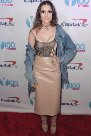 Daya attends the Y100 Jingle Ball 2016