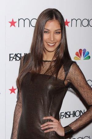 Dayana Mendoza at NBC's Fashion Star premiere party in NYC