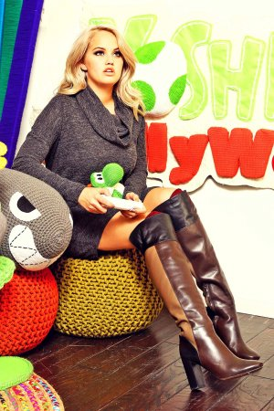 Debby Ryan at a Nintendo Event in LA