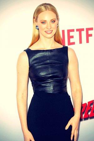 Deborah Ann Woll attends Daredevil Premiere