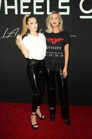 Delilah Belle Hamlin attends Wheels California's bike-share app
