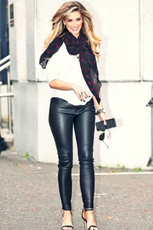 Delta Goodrem at ITV studios in London