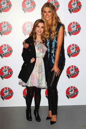 Delta Goodrem at The Voice Final Four press conference