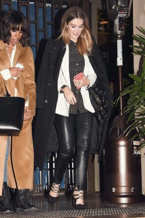 Delta Goodrem attends Boy George's birthday dinner