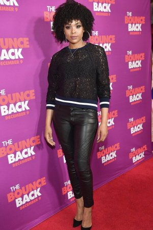 Demetria McKinney attends 'The Bounce Back' Atlanta Screening