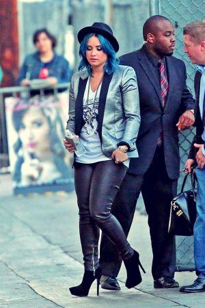 Demi Lovato at Jimmy Kimmel Live