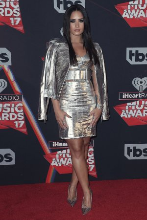 Demi Lovato attends iHeartRadio Music Awards