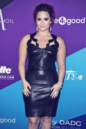 Demi Lovato attends The Gillette Leading Man Cam