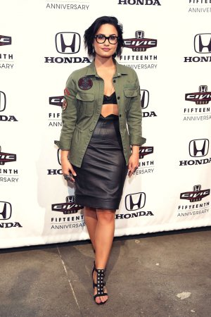 Demi Lovato attends the Honda Civic Event