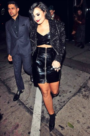 Demi Lovato dine out at Craig's Restaurant
