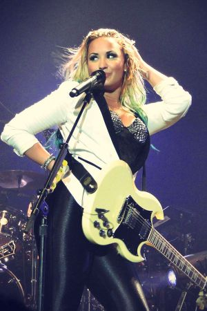 Demi Lovato performs at Susquehanna Bank Center