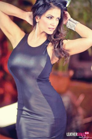 Denise Milani spandex dress