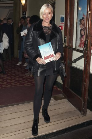 Denise Van Outen at Annie Press Night