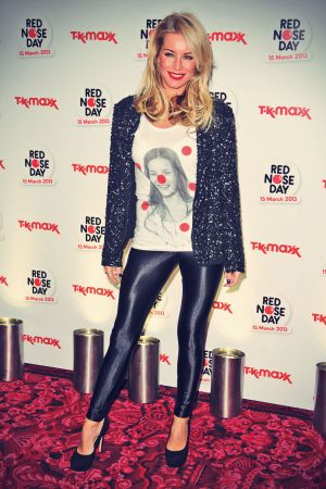 Denise Van Outen Party hosted by TK Maxx in aid of Comic Relief's Red Nose Day