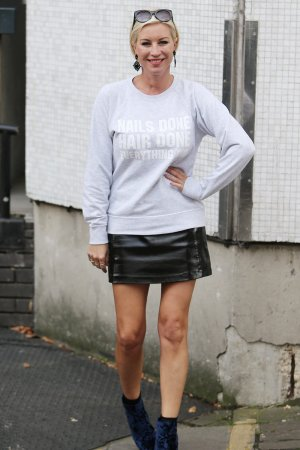 Denise Van Outen seen at itv Studios