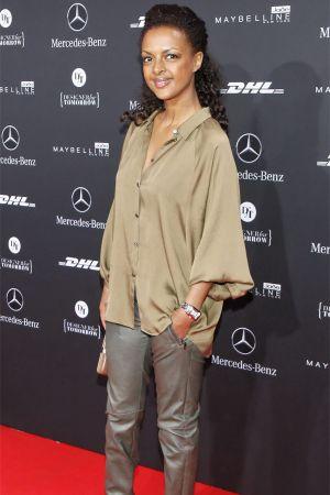 Dennenesch Zoude at Mercedes Benz Fashion Week