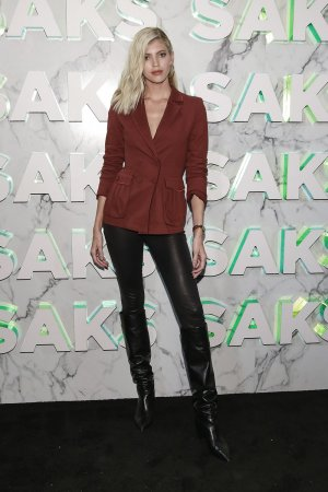 Devon Windsor attends Saks celebrates new main floor