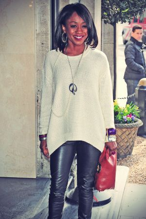 Diane Parish at Tric awards