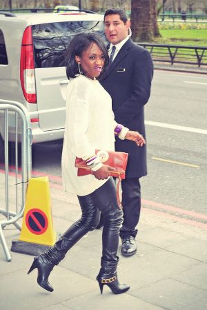 Diane Parish attends Tric awards