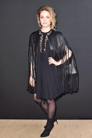 Dianna Agron at Elie Saab Fashion Show