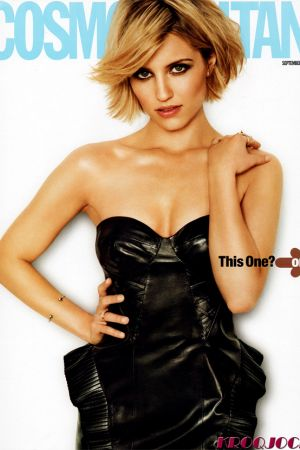 Dianna Agron in Cosmopolitan