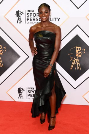 Dina Asher Smith attends BBC Sports Personality of the Year