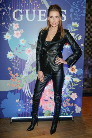 Dominika Grosicka attends premiere of the new GUESS