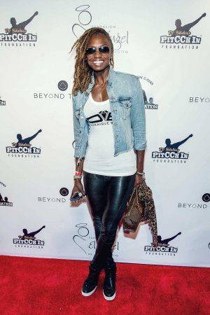 Dominique Blake attends the Roc Nation Summer Classic Charity Basketball