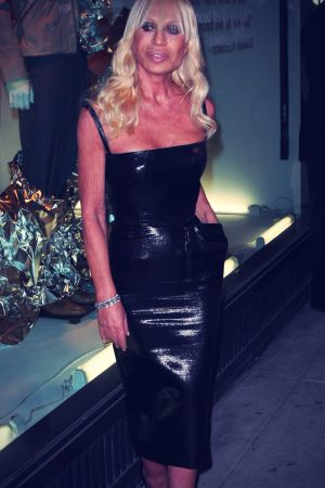 Donatella Versace out and about in NYC