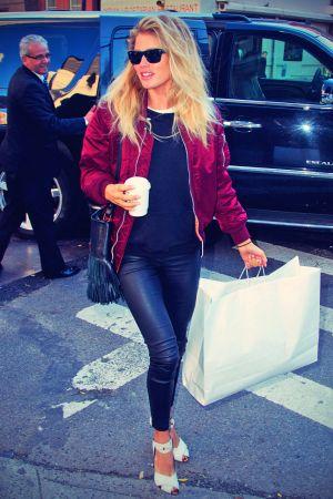 Doutzen Kroes arrive for VS Fashion Show