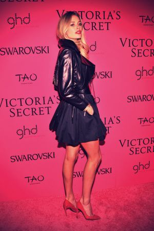 Doutzen Kroes at 2013 Victoria's Secret Fashion Show After Party