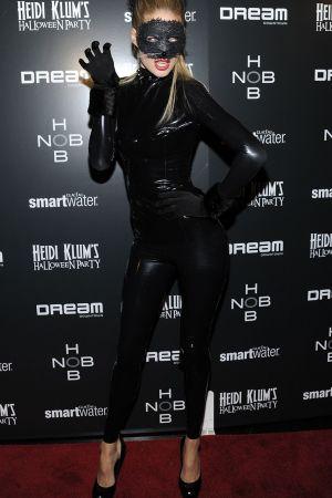 Doutzen Kroes at Heidi Klum's annual Halloween Party in NY