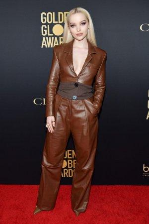 Dove Cameron at HFPA and THR Golden Globe Ambassador Party