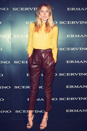 Dree Hemingway attends the Ermanno Scervino fashion show