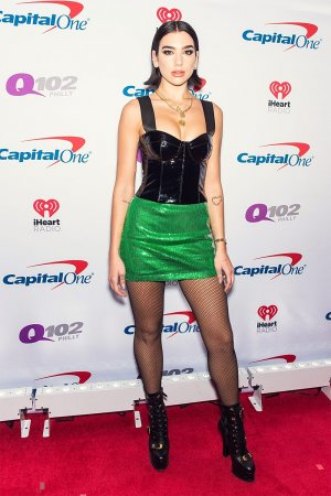 Dua Lipa attends Q102's Jingle Ball 2018