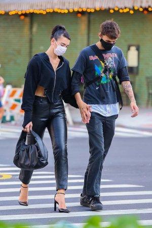 Dua Lipa out in New York 28.09.2020
