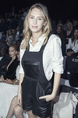 Dylan Frances Penn attends the Emporio Armani Show