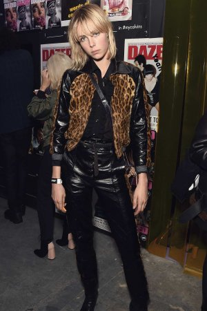 Edie Campbell attends the Dazed magazine's 25th birthday party