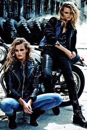 Edita Vilkeviciute & Magdalena Frackowiack W Magazine USA