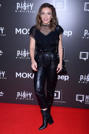 Edyta Herbus attends Premiere of the movie Dogs 3
