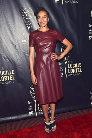 Eisa Davis at the press room for the 31st annual Lucille Lortel Awards