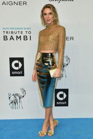 Elena Carriere and Kim Hnizdo attend Tribute to BAMBI