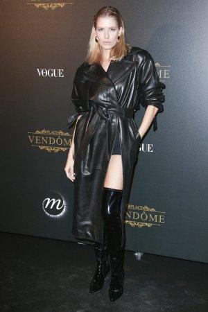 Elena Perminova attends the VOGUE Party