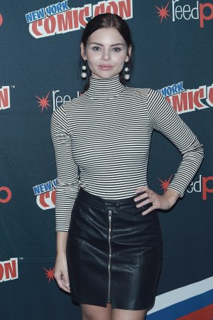 Eline Powell at Siren TV show photocall