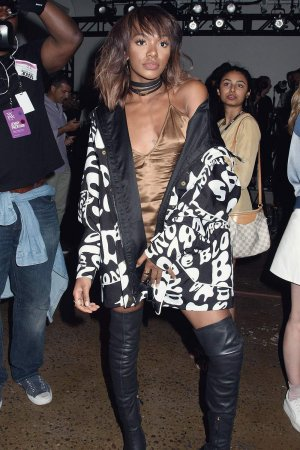 Elisa Johnson attends the MADE Fashion Week